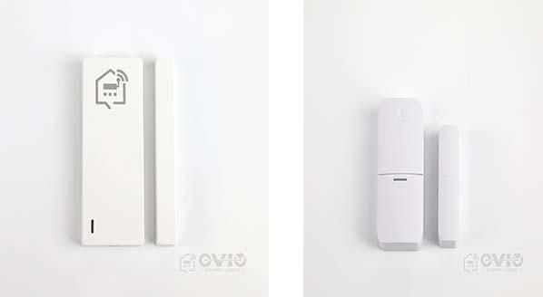 WiFi and RF door sensor